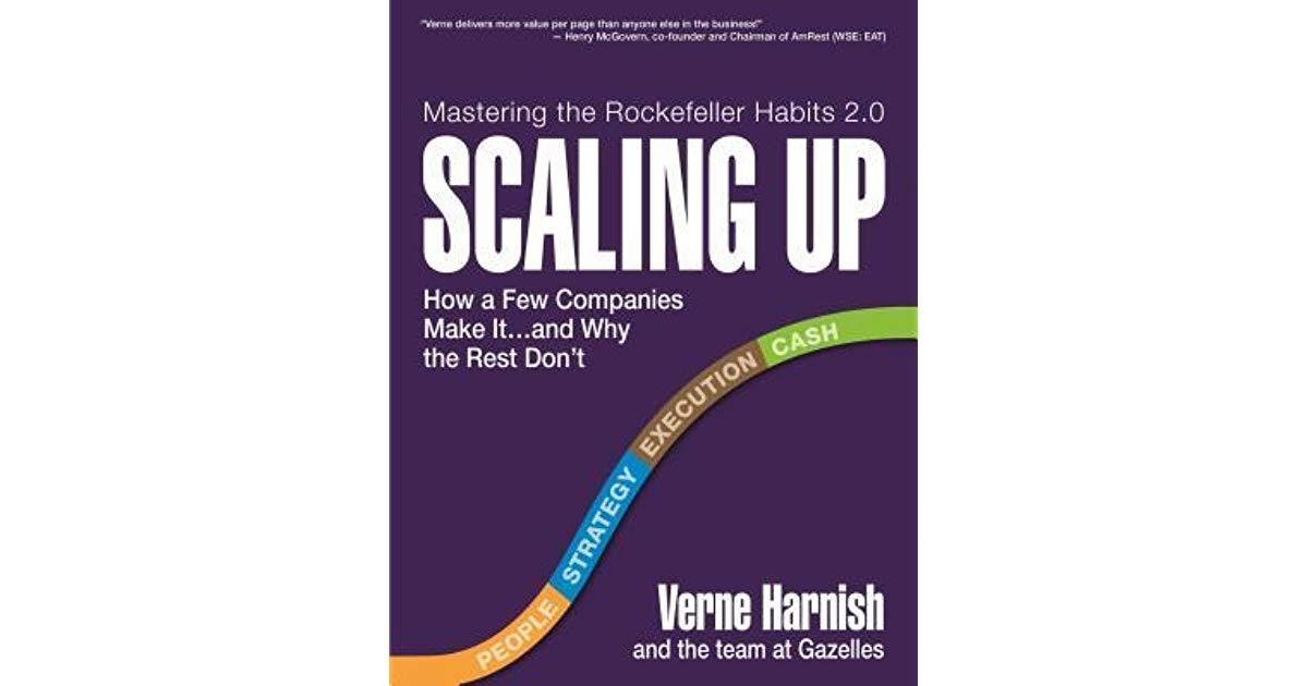 Le livre qui aide à passer de Start-up à Scale-up (1ère partie)